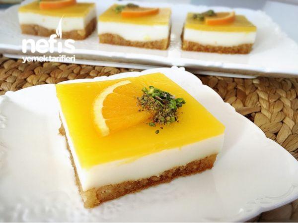 Portakallı Etimek Tatlısı (ferahlatıcı) Videolu