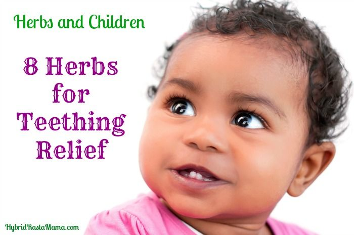 8 Herbs for Teething Relief: HybridRastaMama.com Herbs-Yes! Essential Oils-Probably not for a baby.