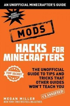 This book is the first unofficial super-guide dedicated to adding mods (modifications) to your Minecraft game.