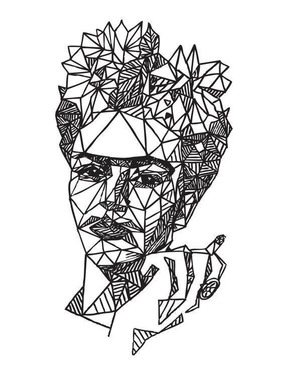 De 25+ bedste idéer inden for Frida kahlo dibujo på