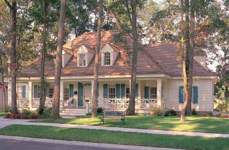 william e poole designs bayou cottage cottage plans