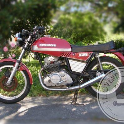 Bellissima moto Ducati 350 GTL del 1980