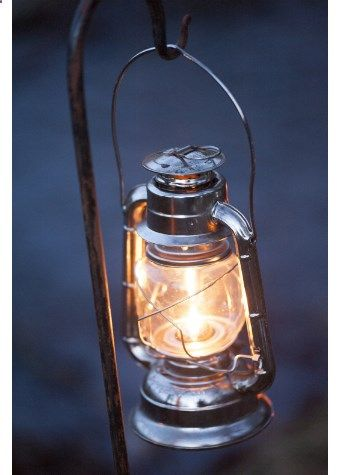 Camping Lantern - The Storm Lantern from The Glam Camping Co. would be great as outdoor backyard lights.