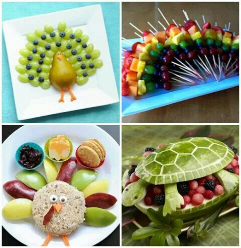 Healthy kids food - very creative
