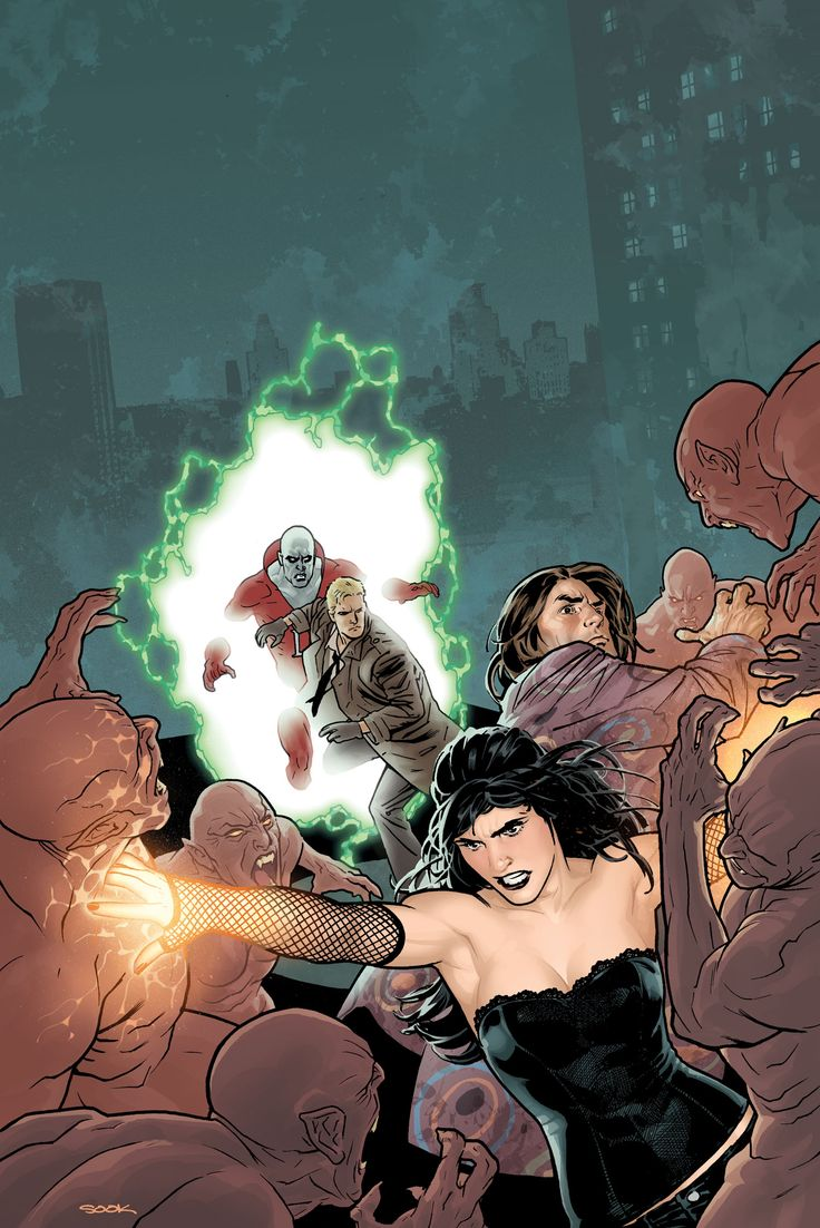 Justice League Dark- Zatanna, Shade, Deadman, & Constantine