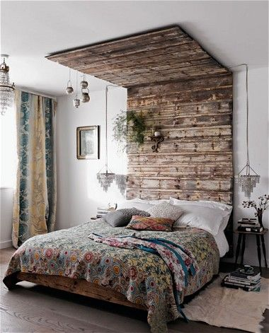 Modern rustic: decorating your home with reclaimed timber - Telegraph eclaimed used flooring as wall cladding UK