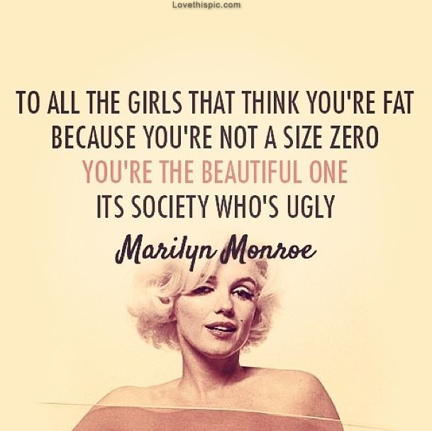 Society Is Ugly celebrities quote celebrity society ugly marilyn monroe girl quo… – Jelena Vazic