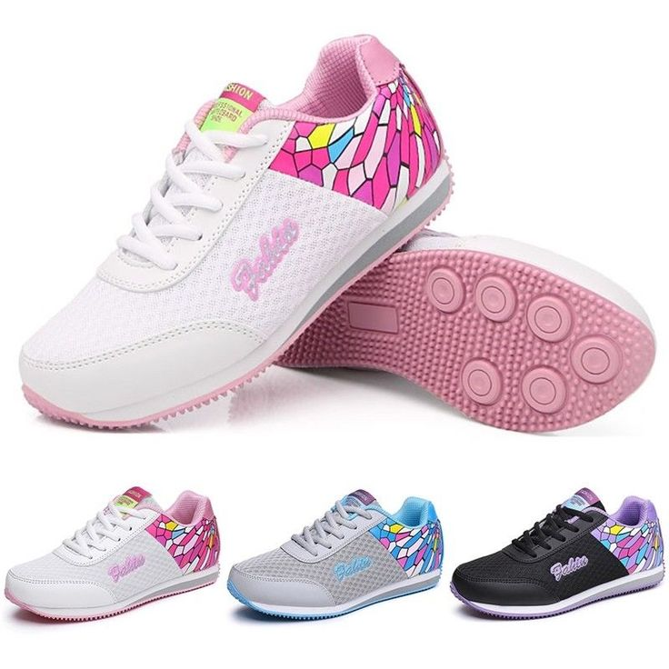 Womens Sports Shoes Students Comfortable Outdoor Walking Athletic Light Sneakers