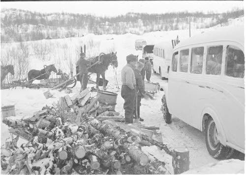 April 1940 road to Petsamo