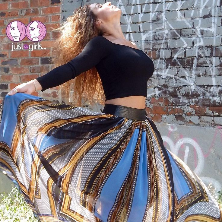 """Had to repost to say.... ONLY TWO LEFT in the """"SABBY"""" off the shoulder top- $53.00!!! I'm in a Medium (could wear a Large too)  ONLY THREE LEFT in the """"ELLE"""" Multi colour skirt (with pockets)- $87.00 (I'm in a Medium)  Get them soon because as you Girls know... Once it's gone... It's gone 😉  www.justtwogirls.ca - - #repost #skirt #skirts #blacktop #top #ootd #toronto #torontofashion #outfitoftheday #picoftheday #pic #colour #justtwogirls www.justtwogirls.ca"""