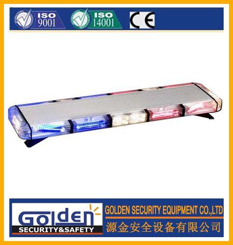 led emergency police fire truck ambulance flashing warning strobe slim amber light bar TBD-GRT-040