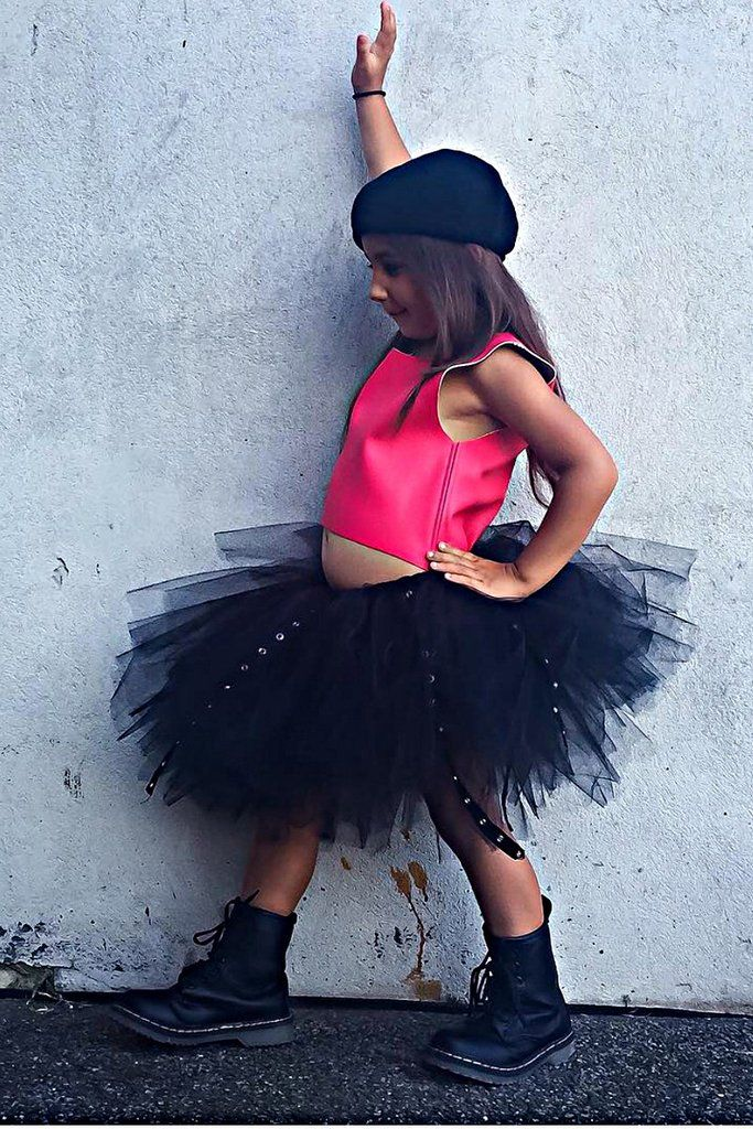TooToo Cool skirt- Noir