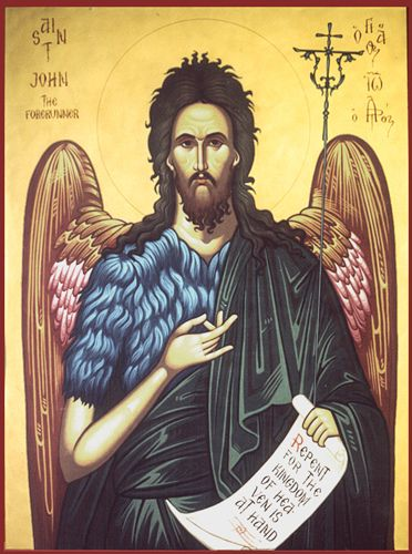 Byzantine Icon of St. John the Baptist | Flickr - Photo Sharing!