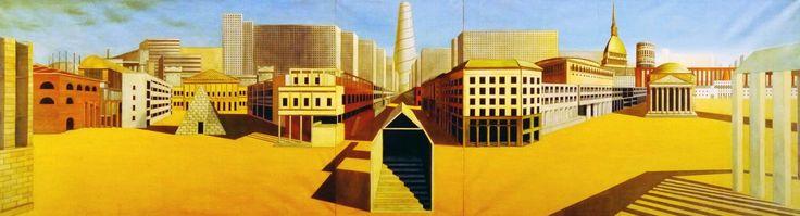Arduino Cantafora, La città analoga, 1973