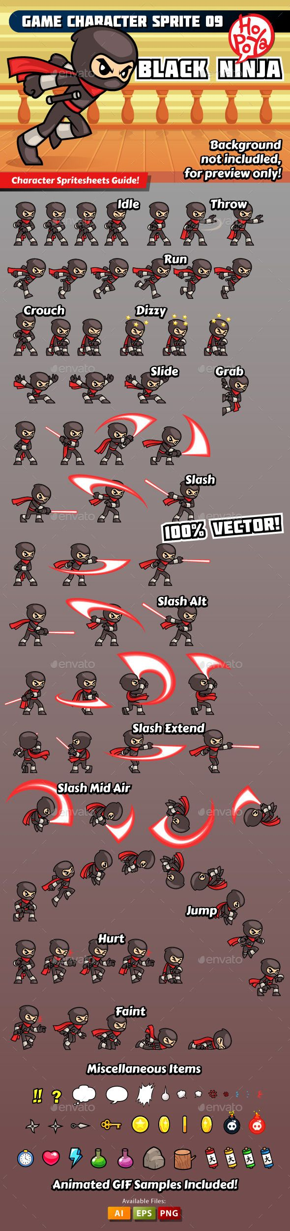 Game Character Sprite 09 - Sprites Game Assets | Download http://graphicriver.net/item/game-character-sprite-09/10119054?ref=sinzo