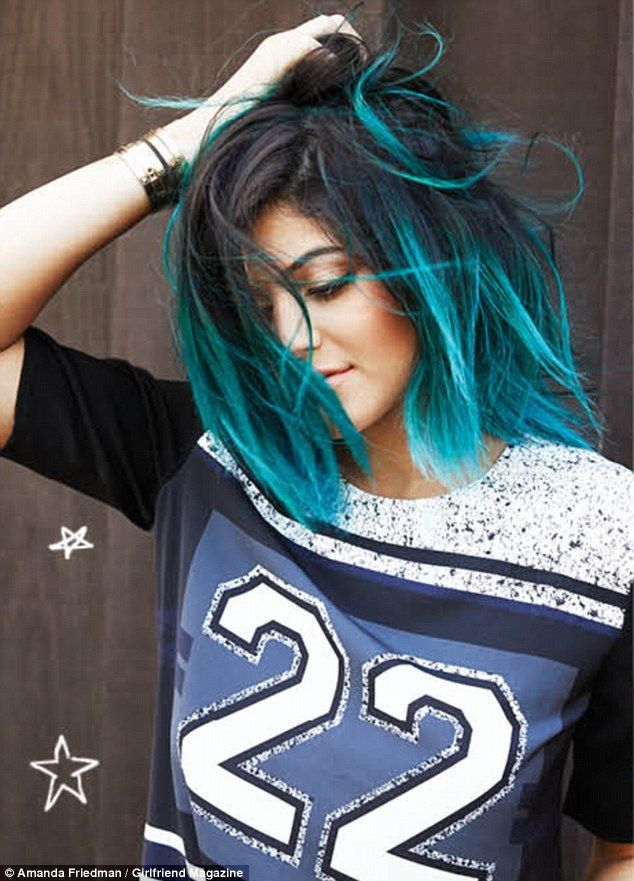 736 best hair color inspiration images on pinterest hair kylie jenner on limelight life for girlfriend magazine cover mail online pmusecretfo Image collections