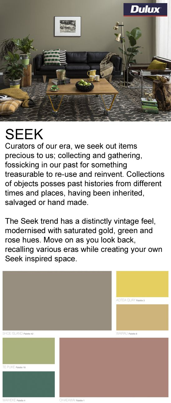 Find SEEK inspired fabrics at Lahood.   www.lahood.co.nz