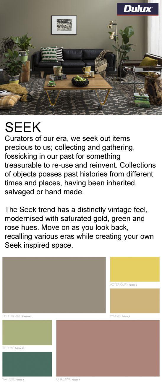 Find SEEK inspired fabrics at Lahood.   www.lahood.co.nz