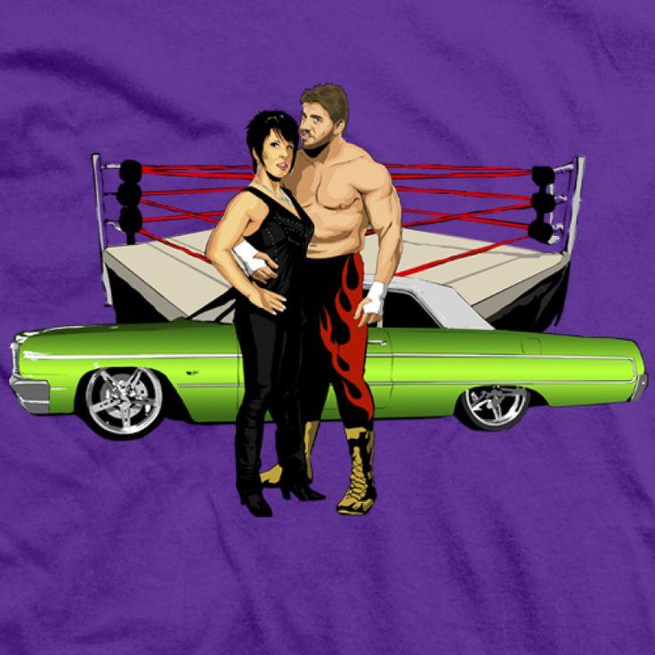 Eddie & Vickie Guerrero t-shirt! Incredible