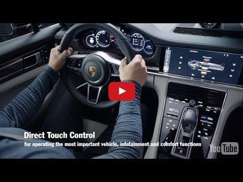 Новый Panamera   Porsche Advanced Cockpit! Порше Панамера!