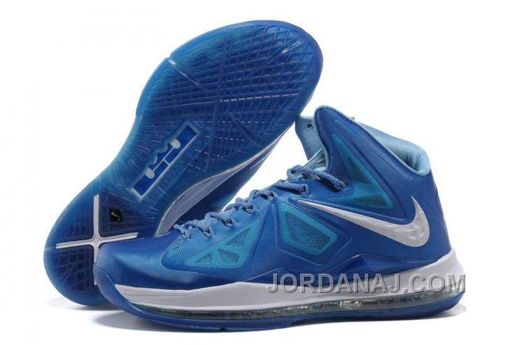 promo code 9330d b1616 Cheap Nike Lebron X 10 Blue Diamond Style 542244 400