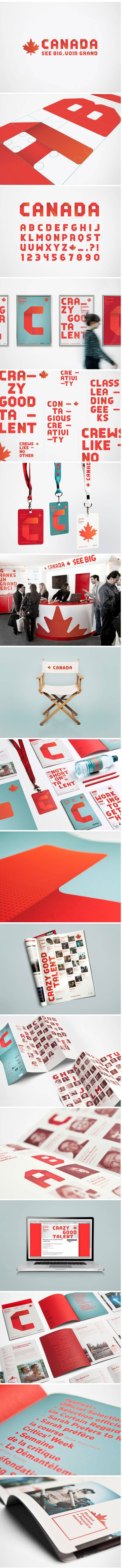 **LOVE this.** The font can stand alone as a graphic, and be integrated around/with other graphics and symbols.