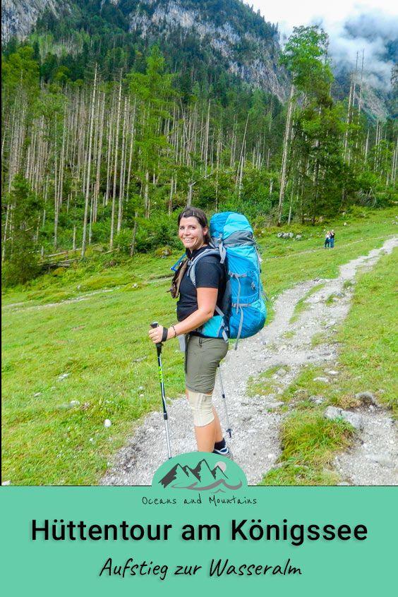 Hüttentour im Berchtesgadener Land – Aufstieg zur Wasseralm
