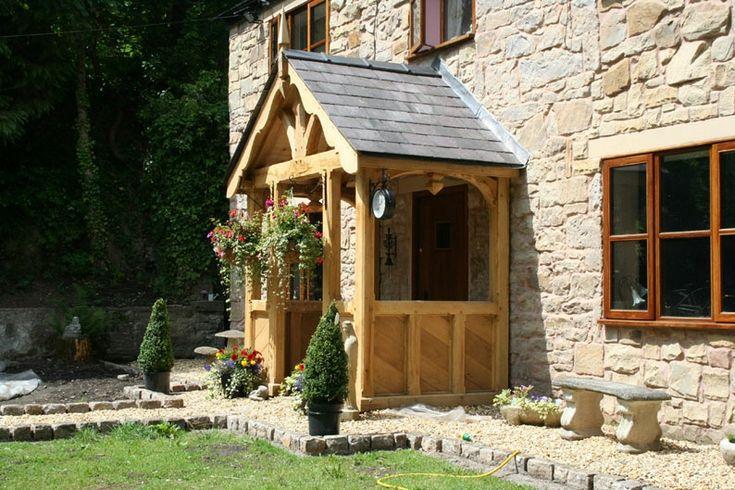 Bespoke heavy sec. Green oak porch kit (12)