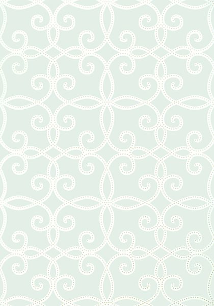 Kendall #wallpaper in #aqua from the Geometric Resource 2 collection. #Thibaut