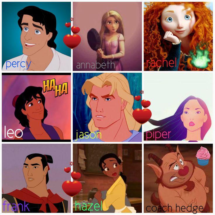 Disney Percy Jackson crossover