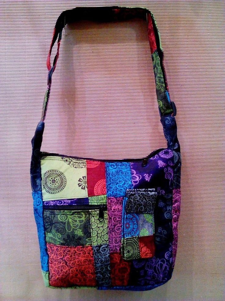 Χειροποίητη τσάντα patchwork