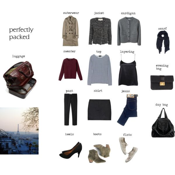 33 Best Images About Packing And Capsule Wardrobe On
