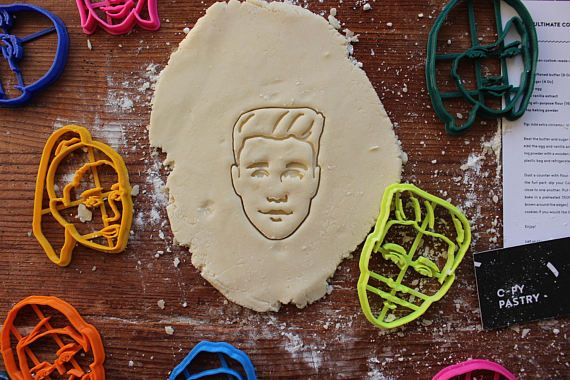 Justin Bieber Cookie Cutter