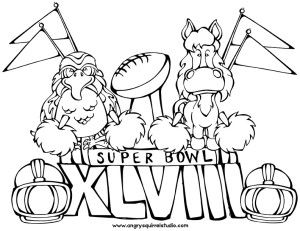 seattle seahawks coloring page - Seahawks Coloring Pages Printable
