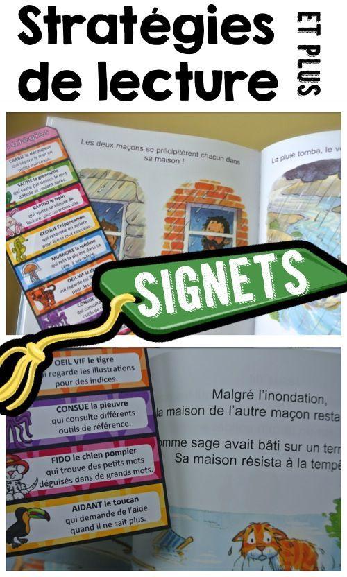 French Reading Strategies: Stratégies de lecture avec noms d'animaux pour…