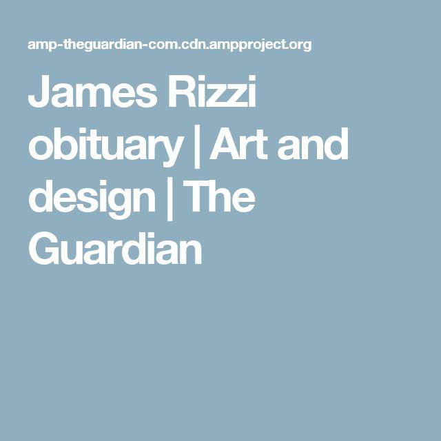 James Rizzi obituary | Art and design | The Guardian