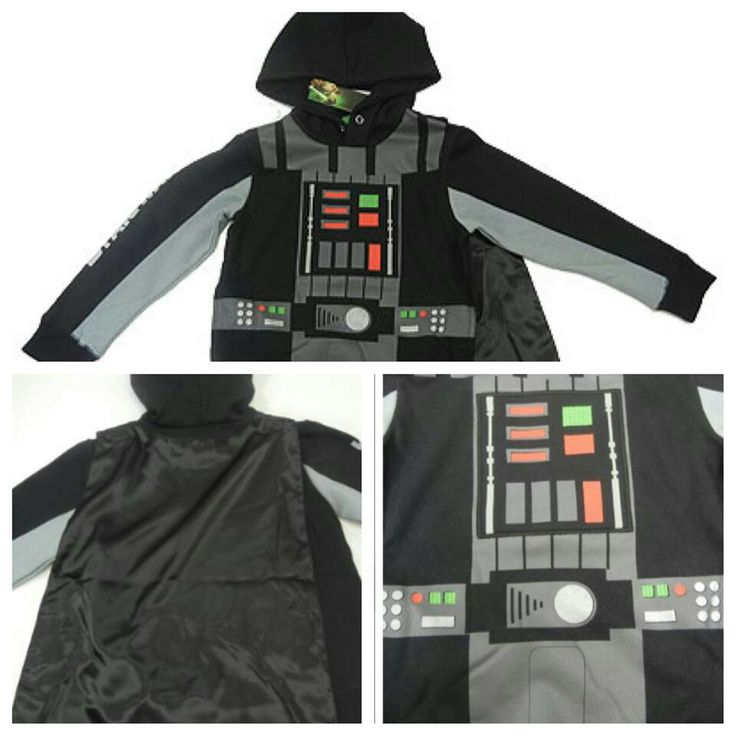Darth Vader Hoodie with Cape
