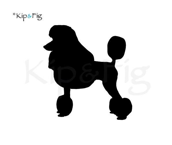 poodle skirt applique template - poodle dog applique template pdf applique pattern