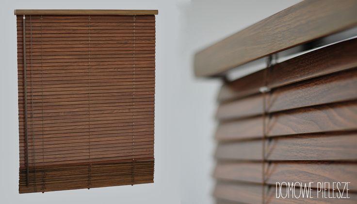 Żaluzje drewniane - styl, elegancja, trwałość.  Żaluzje drewniane znajdziesz na Allegro -->> użytkownik domowepielesze1