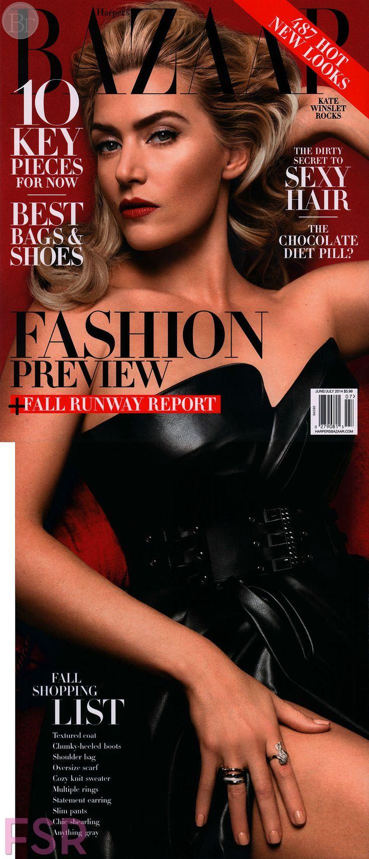 Кейт Уинслет для Harper's Bazaar US, июнь-июль 2014. -    Далее: http://vikagreen.ru/kejt-uinslet-dlya-harpers-bazaar-us-iyun-iyul-2014/