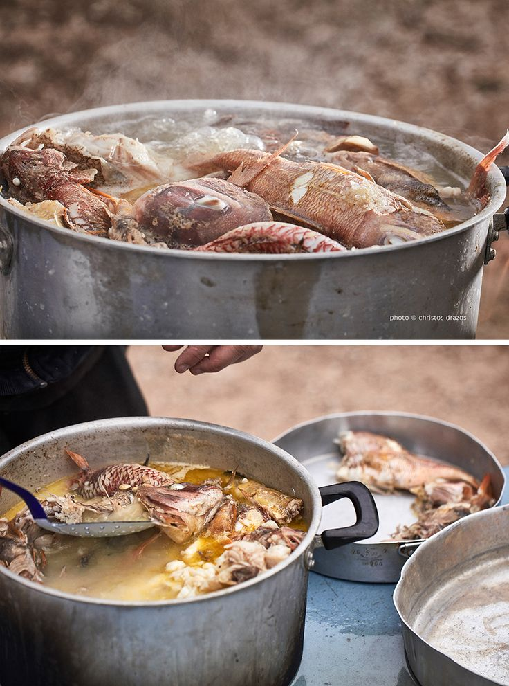 Cooking Kakavia: the Greek fishermen's delicious broth