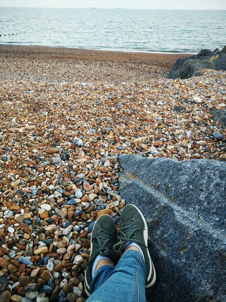 Shoreham-by-sea beach