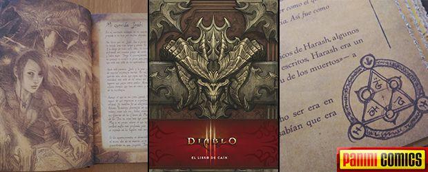 Nuestro análisis de #Diablo3 El libro de Caín de Panini Comics http://www.edicioncoleccionista.com/resena-diablo-3-libro-cain-panini-comics/