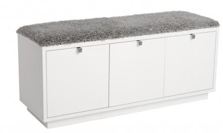 Möbelhuset.net - Hall - Hallmöbler - Confetti sittbänk 3-låd