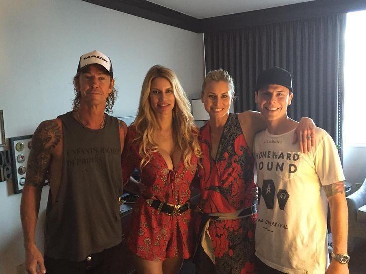 Duff McKagan,Susan Holmes,Niki Taylor and Burney Lamar july 2016