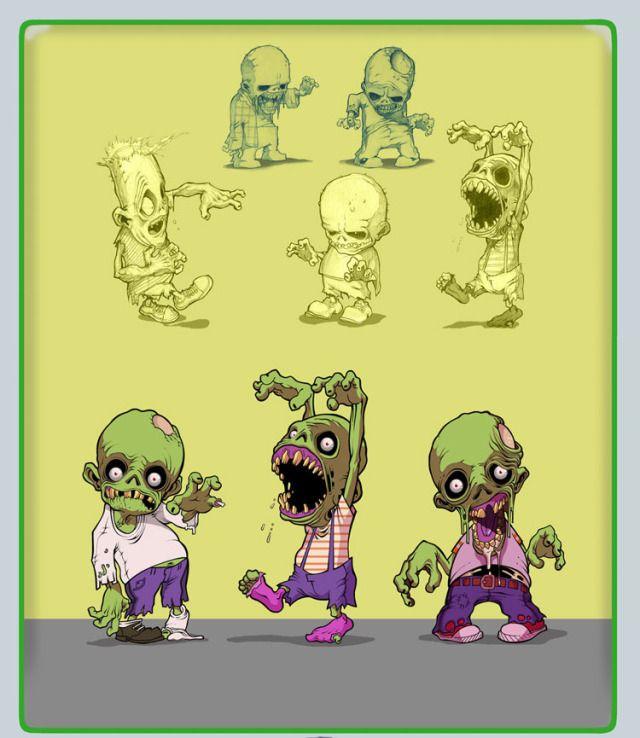 Zombies by Daniel Soni