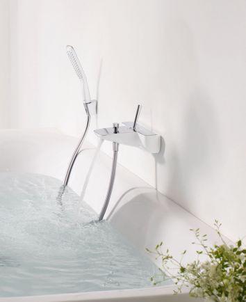 grifo-bañera-ducha-puravida-hansgrohe. En venta en la tienda online terraceramica.es  #grifos #grifería #baños #diseño #arquitectura #terraceramica