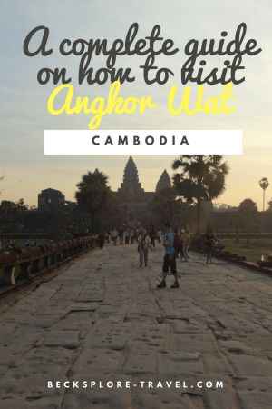 How to visit Angkor Wat, the largest religious monument in the world? #cambodia #angkorwat #southeastasia #travel #asia #seightseeing
