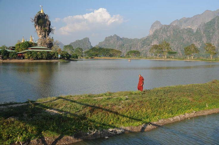 Hpa An, Myanmar, Burma, Karen, Kachin, Kyauk Ka Lat Pagoda