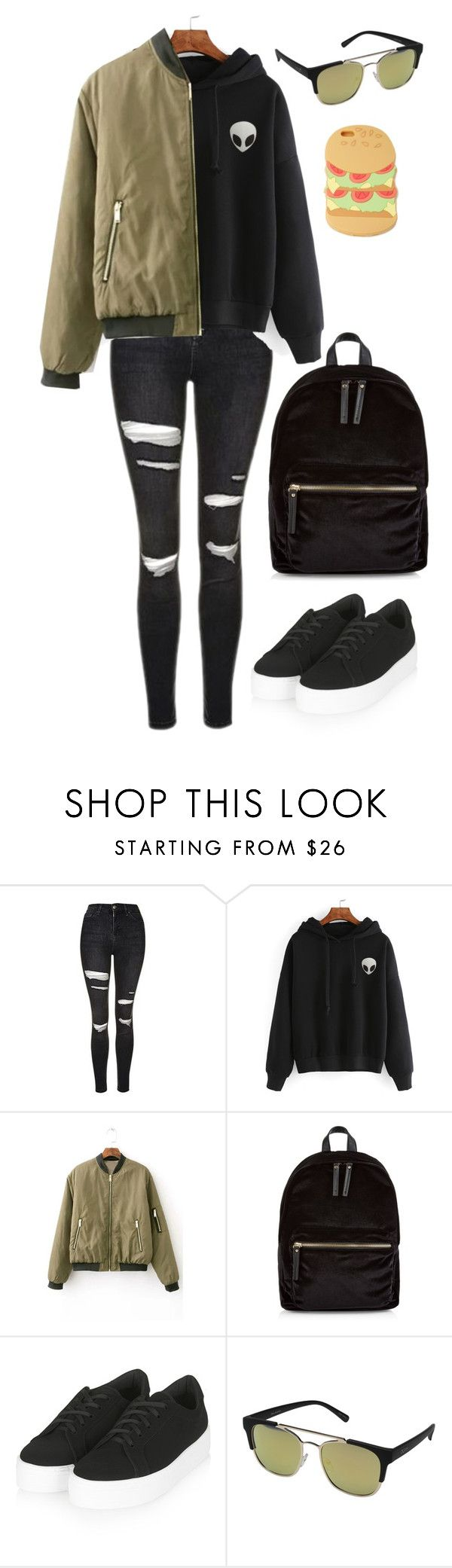 """""""My Style"""" by sphinx-moth ❤ liked on Polyvore featuring Topshop, New Look, Quay, Forever 21, StreetStyle, Fall, urban, layers and falltrend"""